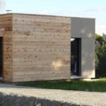 Construction d'une maison à ossature bois comprenant un rez-de-jardin, dans le secteur de Bieuzy Lanvaux et Brandivy dans le Morbihan