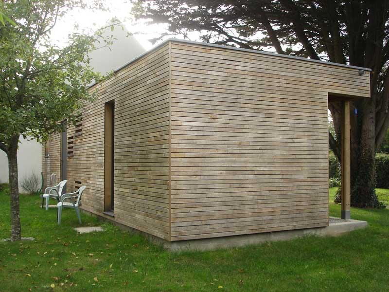 extensions ossature bois maison de bois. Black Bedroom Furniture Sets. Home Design Ideas