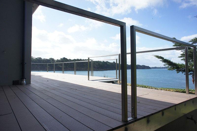 Construction terrasse bois Morbihan