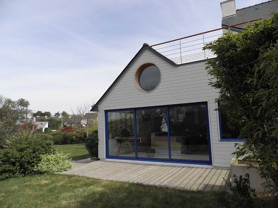 Extension maison d'habitation à Sarzeau Morbihan