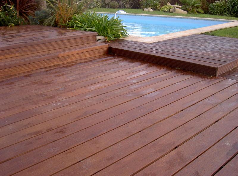 Construction terrasse bois Vannes